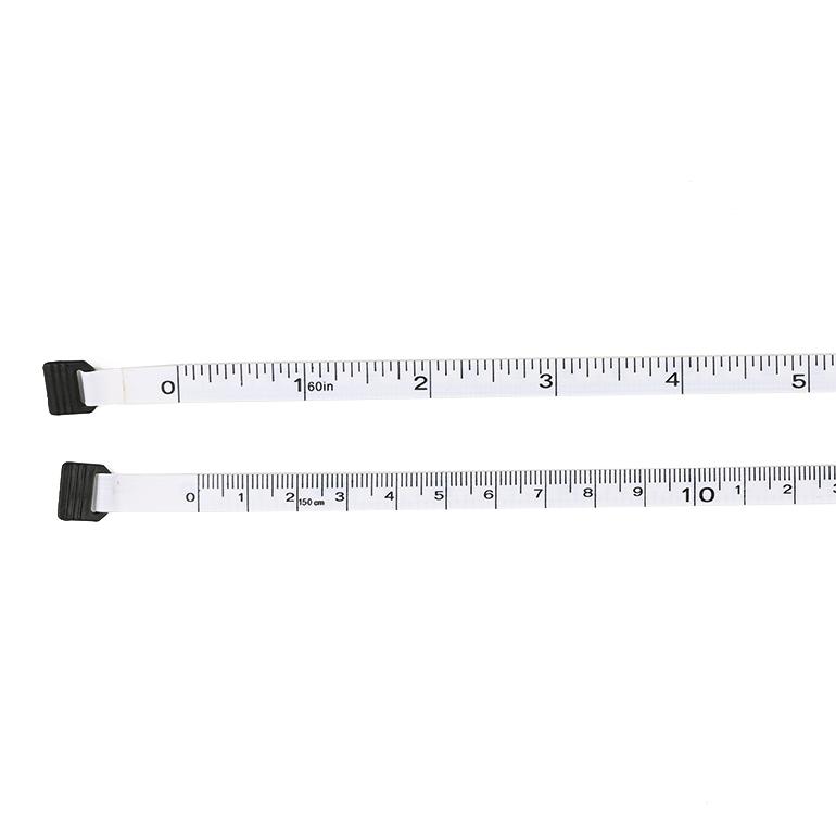 black surface measuring tape